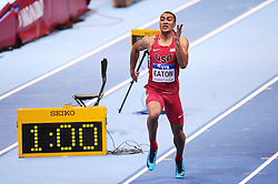 07.03.2014, Ergo Arena, Sopot, POL, IAAF, Leichtathletik Indoor WM, Sopot 2014, Tag 1, im Bild ASHTON EATON // ASHTON EATON during day one of IAAF World Indoor Championships Sopot 2014 at the Ergo Arena in Sopot, Poland on 2014/03/07. EXPA Pictures © 2014, PhotoCredit: EXPA/ Newspix/ Piotr Matusewicz<br /> <br /> *****ATTENTION - for AUT, SLO, CRO, SRB, BIH, MAZ, TUR, SUI, SWE only*****