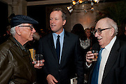 NICKY HASLAM; TEDDY ST. AUBYN; FRANCIS WYNDHAM, The launch party of BloomsburyÕs publication of Why not say what happened?, a memoir by Ivana Lowell  hosted by Ivana Lowell and Catherine Ostler, at WheelerÕs of St. JamesÕs. London.  -DO NOT ARCHIVE-© Copyright Photograph by Dafydd Jones. 248 Clapham Rd. London SW9 0PZ. Tel 0207 820 0771. www.dafjones.com.<br /> NICKY HASLAM; TEDDY ST. AUBYN; FRANCIS WYNDHAM, The launch party of Bloomsbury's publication of Why not say what happened?, a memoir by Ivana Lowell  hosted by Ivana Lowell and Catherine Ostler, at Wheeler's of St. James's. London.  -DO NOT ARCHIVE-© Copyright Photograph by Dafydd Jones. 248 Clapham Rd. London SW9 0PZ. Tel 0207 820 0771. www.dafjones.com.