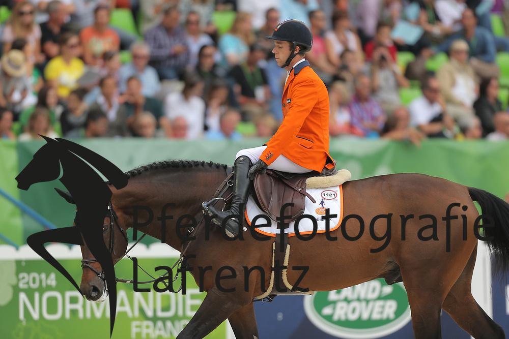 van der Vleuten, Maikel , VDL Groep Verdi TN N.O.P<br /> Normandie - WEG 2014<br /> Springen - Finale III<br /> © www.sportfotos-lafrentz.de/ Stefan Lafrentz