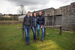Katrien Leybaert, Carmeliet Christophe, Carmeliet Laurens, (BEL)<br /> C-Two Stable - Stekene 2016<br /> © Hippo Foto - Dirk Caremans<br /> 30/03/16