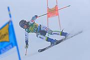 SOELDEN, AUSTRIA. OCTOBER 17 2020:  1st Women's Giant Slalom as part of the Alpine Ski World Cup in Solden on October 17, 2020; Run 1, Ana Bucik (SLO) ( Pierre Teyssot/ESPA Images-Image of Sport)