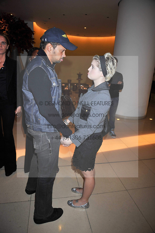 Gerry DeVeaux and KELLY OSBOURNE at the St.Martins Lane Hotel 10th year bash held on 9th September 2009.