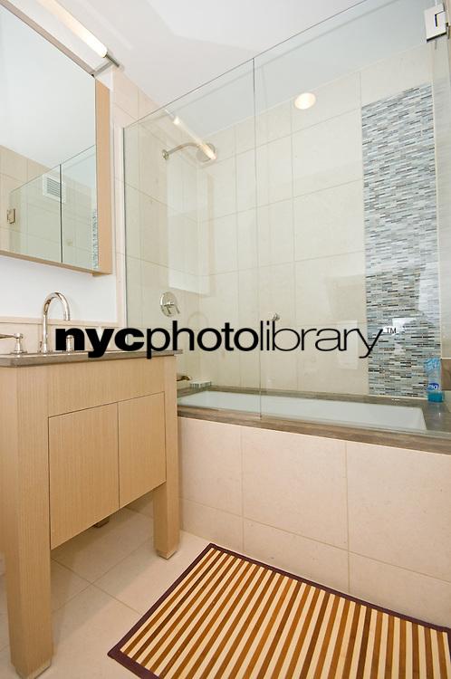 Bathroom at 350 West 42nd Street