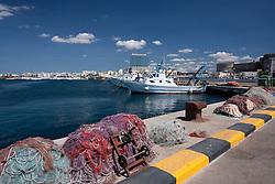 Banchina del porto Mercantile di Gallipoli (LE)
