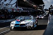 June 10-16, 2019: 24 hours of Le Mans. 82 BMW TEAM MTEK, BMW M8 GTE,  Augusto FARFUS, Antonio FELIX DA COSTA, Jesse KROHN , morning warmup