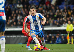 January 27, 2019 - Barcelona, BARCELONA, Spain - Darder of Espanyol in action during La Liga Spanish championship, , football match between Espanyol and Real Madrid,  January 27th, in RCDE Stadium in Barcelona, Spain. (Credit Image: © AFP7 via ZUMA Wire)
