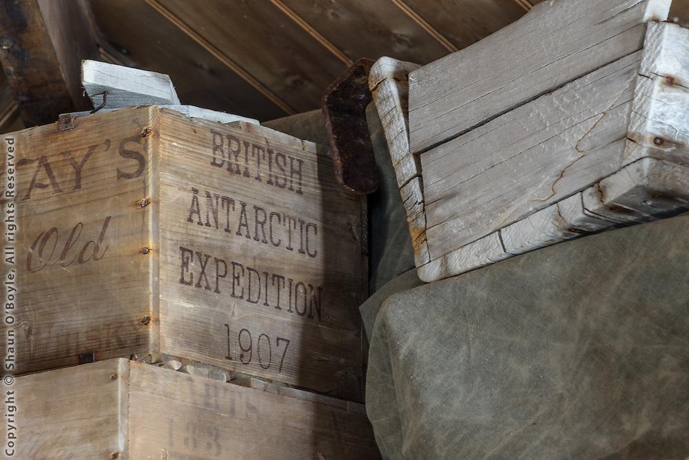 Shackleton's Hut #8, Cape Royds, Antarctica