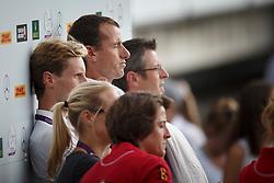 Wathelet Gregory, (BEL), Devos Pieter, (BEL), Laeremans Wendy, (BEL), Rydant Hymne, (BEL)<br /> Team completion and 2nd individual qualifier<br /> FEI European Championships - Aachen 2015<br /> © Hippo Foto - Dirk Caremans<br /> 20/08/15