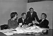 1963 - Judging Brown and Polson competition at Arks Advertising