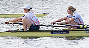 Caversham, Nr Reading, Berkshire.<br /> <br /> GBR W2-, Bow, Helen GLOVER and Heather STANNING, Olympic Rowing Team Announcement morning training before the Press conference at the RRM. Henley.<br /> <br /> Thursday  09.06.2016<br /> <br /> [Mandatory Credit: Peter SPURRIER/Intersport Images] 09.06.2016,