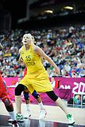 DESCRIZIONE : Basketball Jeux Olympiques Londres Demi finale<br /> GIOCATORE : Jackson Lauren AUS<br /> SQUADRA : Australie FEMME<br /> EVENTO : Basketball Jeux Olympiques<br /> GARA : USA AUSTRALIE<br /> DATA : 09 08 2012<br /> CATEGORIA : Basketball Jeux Olympiques<br /> SPORT : Basketball<br /> AUTORE : JF Molliere <br /> Galleria : France JEUX OLYMPIQUES 2012 Action<br /> Fotonotizia : Jeux Olympiques Londres demi Finale Femme Greenwich Arena<br /> Predefinita :