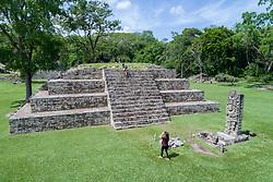 Luftaufnahme der Ausgrabungsstaette der Copan Ruinen der Maya, Honduras Copan Ruinas, Honduras / Luftaufnahme der Ausgrabungsstaette der Copan Ruinen der Maya, Honduras Copan Ruinas, Honduras