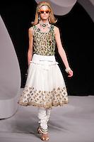 Erin Heatherton walks the runway  at the Christian Dior Cruise Collection 2008 Fashion Show