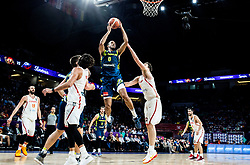 Anthony Randolph of Slovenia vs Pau Gasol of Spain during basketball match between National Teams of Slovenia and Spain at Day 15 in Semifinal of the FIBA EuroBasket 2017 at Sinan Erdem Dome in Istanbul, Turkey on September 14, 2017. Photo by Vid Ponikvar / Sportida