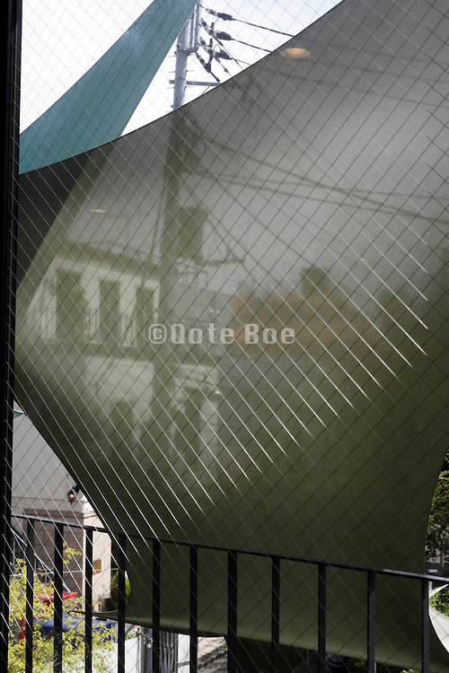 artistic designed sun protection screen for garden and home