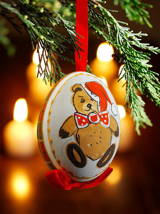 Christmas bauble decorations