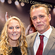 NLD/Amsterdam/20171002 - remiere Liesbeth List de Musical, Chris Tates en partner Jorrit Ruijs