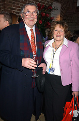 LORD JENKIN OF RODING and his daughter in law ANNE JENKIN  at the annual Parliamentary Palace of Varieties in aid of Macmillan Cancer Relief at St.Johns, Smith Square, London on 2nd February 2006. <br /><br />NON EXCLUSIVE - WORLD RIGHTS