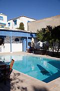 Hotel pool, Sidi Bou Said, Tunisia