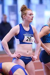Mathilde U. Kramer. Danske Mesterskaber 2018 (Inde) i Spar Nord Arena, Skive, Denmark, 17.02.2018. Photo Credit: Allan Jensen/EVENTMEDIA.