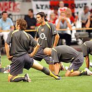 NLD/Amsterdam/20050729 - LG Amsterdam Tournament 2005, warming up Arsenal, Robert Pires (7)
