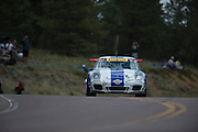 June 30, 2013 - Pikes Peak, Colorado.  David Donner makes his run up the mountain during the 91st running of the Pikes Peak Hill Climb.