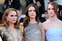Stacy Martin, Natalie Portman and Raffey Cassidy attending the Vox Lux Premiere as part of the 75th Venice International Film Festival (Mostra) in Venice, Italy on September 04, 2018. Photo by Aurore Marechal/ABACAPRESS.COM