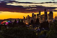 Summertime in Seattle