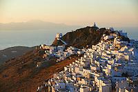 Grece, Cyclades, ile de Serifos, la capital Hora // Greece, Cyclades Islands, Serifos island, Hora the capital city