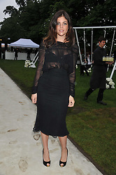 JULIA RESTOIN-ROITFELD at the annual Serpentine Gallery Summer Party sponsored by Burberry held at the Serpentine Gallery, Kensington Gardens, London on 28th June 2011.