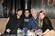 Dylan McDermott, Randall Emmett, Producer, Avi Lerner of Millennium Films & Heidi Jo Markel of Eclectic Pictures, Producer..The Tenants Post Screening Party.Aer Premiere Lounge.New York, NY, USA.Monday, April, 25, 2005.Photo By Selma Fonseca/Celebrityvibe.com/Photovibe.com, .New York, USA, Phone 212 410 5354, .email: sales@celebrityvibe.com ; website: www.celebrityvibe.com...