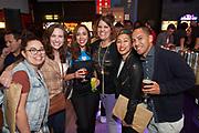 Content Magazine Pick Up Party at Mini Boss in San Jose, California, on February 25, 2020. (Stan Olszewski/SOSKIphoto)