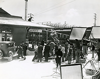 1939 Filming Second Fiddle at 20th Century Fox Studios
