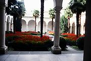 Inner courtyard of Livadia Palace, Yalta, Crimea, Russia in 1997