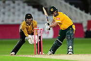 Steven Mullaney of Nottinghamshire during the Vitality T20 Blast North Group match between Nottinghamshire County Cricket Club and Leicestershire County Cricket Club at Trent Bridge, Nottingham, United Kingdom on 4 September 2020.