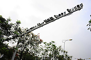 SHANGHAI, CHINA - NOVEMBER 03:  china out - finland out<br /><br />Strict Censorship: 27 Cameras Appear At A Junction In Shanghai<br /><br />Nearly 30 cameras are installed on a pole at the junction of Youyi road and Keshan road on November 03, 2013 in Shanghai, China. Citizens pointed out those cameras are for recording broke-limit cars. <br />©Exclusivepix