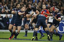New-Zealand's Samuel Whitelock during a rugby friendly Test match, France vs New-Zealand in Stade de France, St-Denis, France, on November 11th, 2017. France New-Zealand won 38-18. Photo by Henri Szwarc/ABACAPRESS.COM