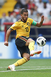 June 23, 2018 - Moscou, Rússia - MOSCOU, MO - 23.06.2018: BÉLGICA Y TÚNEZ - Eden Hazard during the match between Belgium and Tunisia valid for the 2018 World Cup held at the Otkrytie Arena (Spartak) in Moscow, Russia. (Credit Image: © Ricardo Moreira/Fotoarena via ZUMA Press)