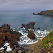Pigeon Point Lighthouse And Shoreline