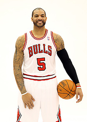 11.12.2011, The Berto Center, Deerfield, USA, NBA, Chicago Bulls Medien Tag, im Bild CARLOS BOOZER CHICAGO BULLS // during Chicago Bulls Media Day at the Berto Center, Deerfield, United Staates on 2011/12/11. EXPA Pictures © 2011, PhotoCredit: EXPA/ Newspix/ Kamil Krzaczynski..***** ATTENTION - for AUT, SLO, CRO, SRB, SUI and SWE only *****
