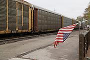 Missouri MO USA, Jefferson City's Union-Pacific station.
