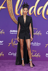 """Premiere Of Disney's """"Aladdin"""" at El Capitan Theatre in Hollywood, California on 5/21/19. 21 May 2019 Pictured: Willow Smith. Photo credit: River / MEGA TheMegaAgency.com +1 888 505 6342"""
