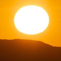 The Sun, Anza-Borrego State Park, California