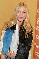 LAURA WHITMORE at the launch the Folli Follie Flagship store at 493 Oxford Street, London on 28th May 2015.