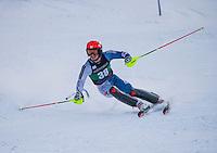 Dartmouth Carnival mens slalom.  ©2016 Karen Bobotas Photographer