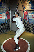 Derek Jeter Wax Figure at the Yao Ming, Basket Ball 'Biggest Star ' Unveilng - In Wax - For the first time in the U.S. and welcomed by a troupe of Chinese Acrobats Performing a gravity-defying gymnastic Slam Dunk at Madame Tussauds New York...