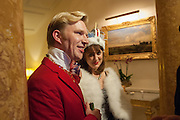 HENRY CONWAY; MARY FELLOWES, , Tatler magazine Jubilee party with Thomas Pink. The Ritz, Piccadilly. London. 2 May 2012
