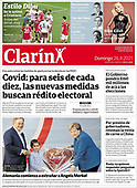 September 26, 2021 - LATIN AMERICA: Front-page: Today's Newspapers In Latin America