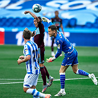 during the La Liga soccer match between Real Sociedad C.F vs R.C Celta de Vigo at Reale Arena.San Sebastian, Guipuzcoa ,Spain, 24/06/2020.