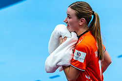 Bo van Wetering of Netherlands during the Women's EHF Euro 2020 match between Netherlands and Germany at Sydbank Arena on december 14, 2020 in Kolding, Denmark (Photo by RHF Agency/Ronald Hoogendoorn)